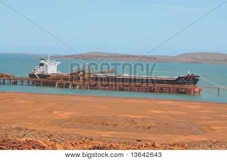 Giant Ship Under Loading