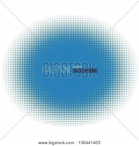 Color halftone pattern. Vector background. Stock illustration