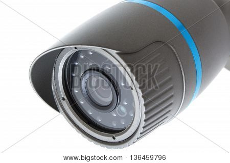 Ip Camera, Security Surveillance Ip-cam Isolated On White