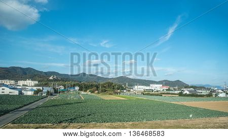 view of the countryside in , Japan