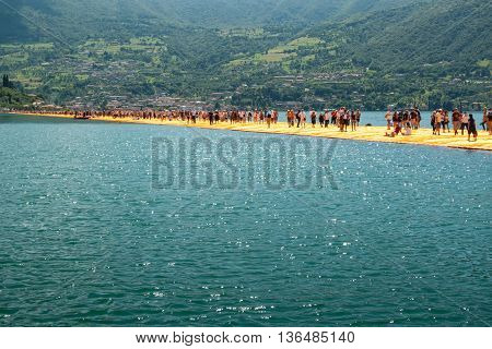 Floating Piers Longest Walkway