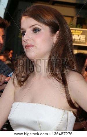 LOS ANGELES - JUN 29:  Anna Kendrick at the Mike And Dave Need Wedding Dates Premiere at the Cinerama Dome at ArcLight Hollywood on June 29, 2016 in Los Angeles, CA