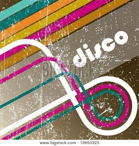 Enjoy disco. vector