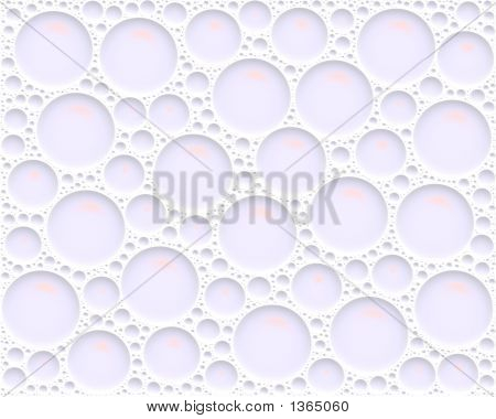 Water Drops Texture Background Large Soap Bubbles