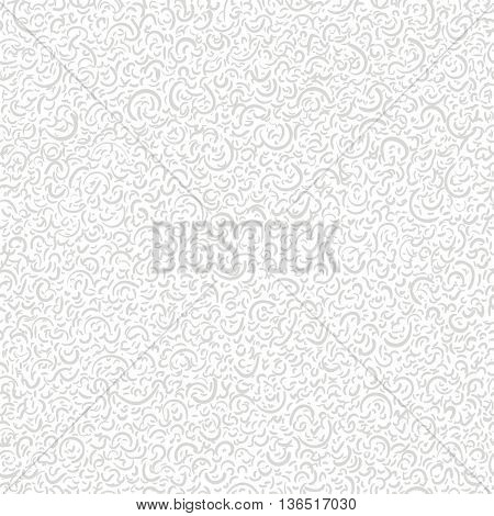 Vector seamless abstract background with little crescents. Can be used for wallpaper, pattern fills, web page, surface textures, textile print, wrapping paper.