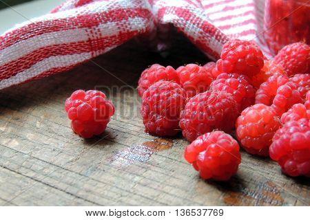 Raspberry On The Board