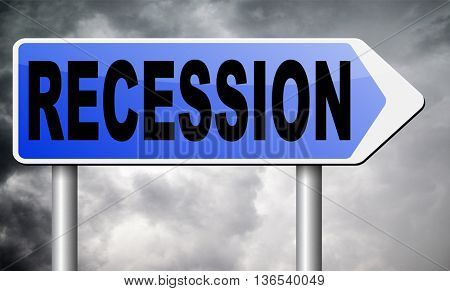 recession crisis bank and stock crash economic and financial bank recession market crash