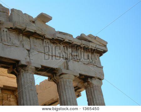 Closeup - Acropolis