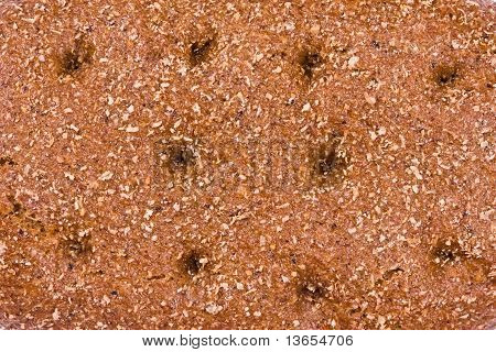 Rye Bread Close Up