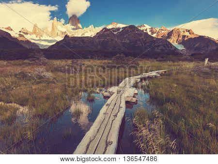 Cerro Fitz Roy in Argentina