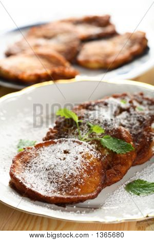 Pancakes Made From Pumpkin
