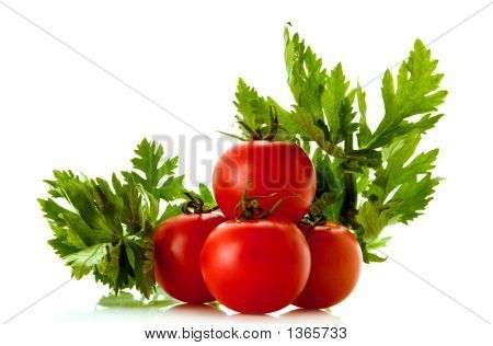 Celery And Tomatoes