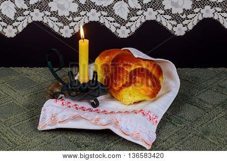 Shabbat Shalom - Traditional Jewish Sabbath ritual Saturday Sabbath
