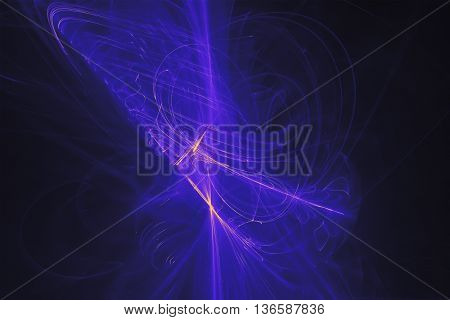 blue glow energy wave. lighting effect abstract background. This image is suitable for any purpose such as science fantastic sci-fi horror supernatural and etc.