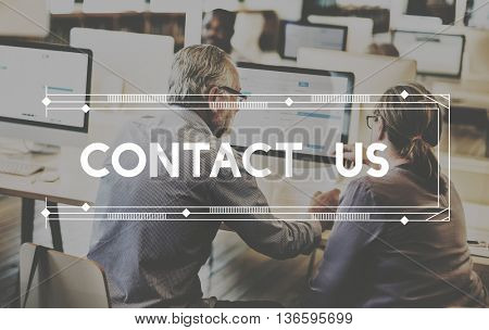 Consult Contact Us Advice Help Concept