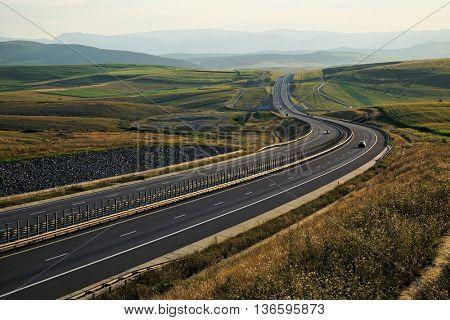 Transylvania highway A3, Romania