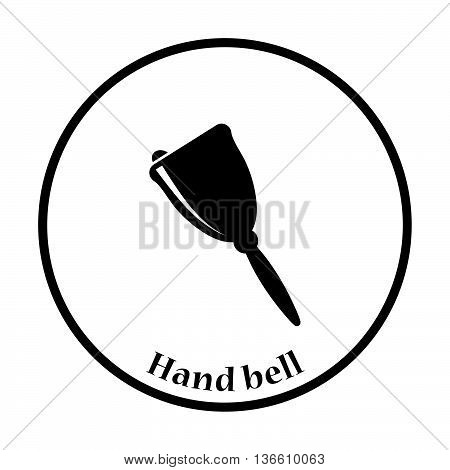 Icon Of School Hand Bell