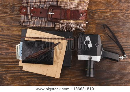 Big Set Of Different Man's Things
