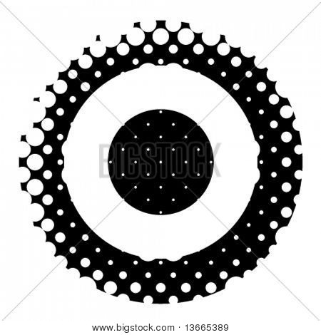 dotted target vector