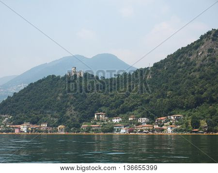 The Floating Piers In Lake Iseo