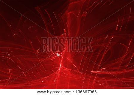 red glow energy wave. lighting effect abstract background. This image is suitable for any purpose such as science fantastic sci-fi horror supernatural and etc.