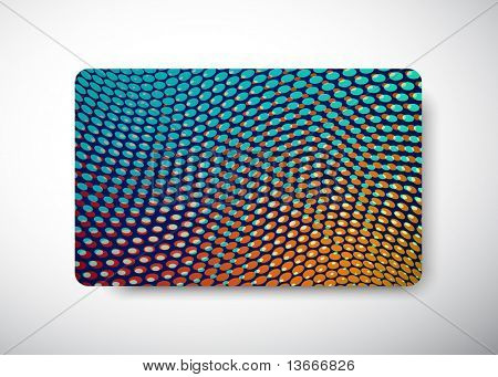 Gift Card - size 3 3/8 x 2 1/8  (86 x 54 mm)