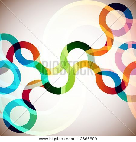 rainbow abstract background