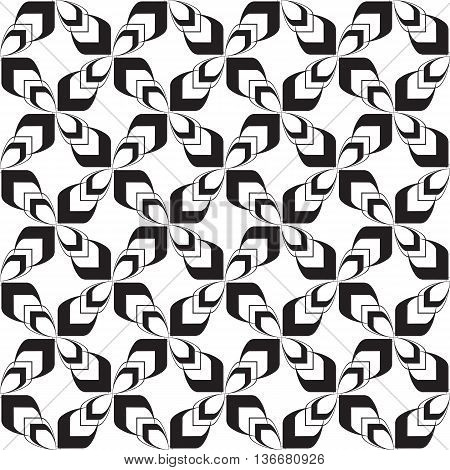 Stylish Arrows Funky Crosses Modern Geometric Celtic Tribal Repeating Seamless Vector Pattern Background Design