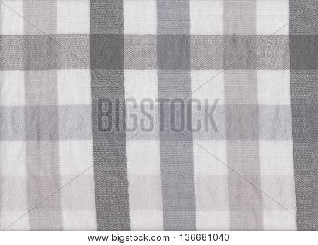 gray fabric texture of textiles scots pattern for design abstract background.