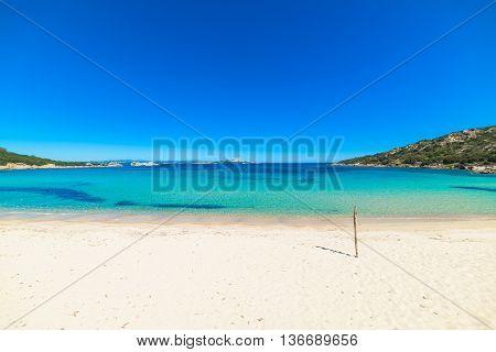 Cala Battistoni in Costa Smeralda in Sardinia