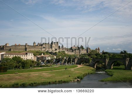 Carcassone Cite the South of France