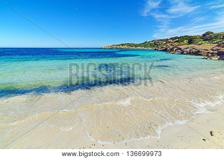 Cala Granu on a clear day Costa Smeralda
