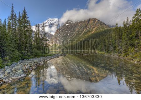 Mountains And Boreal Forest - Jasper National Park, Canada