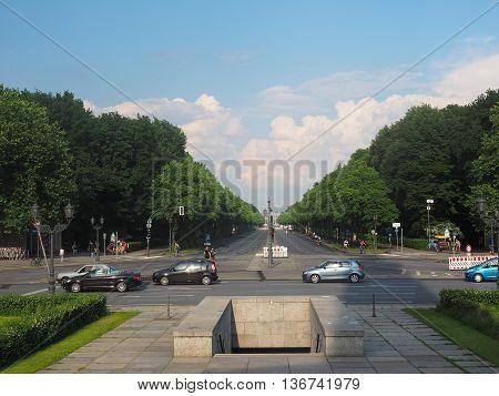 Tiergarten Park In Berlin