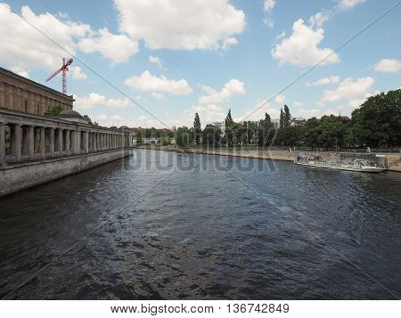 River Spree In Berlin