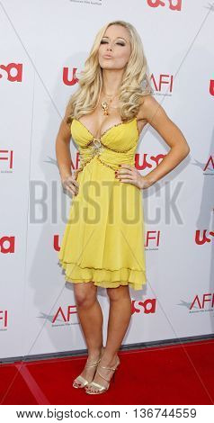 Kendra Wilkinson at the 36th AFI Life Achievement Award held at the Kodak Theater in Hollywood, USA on June 12, 2008.