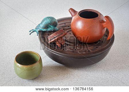 Clay Tea Utensils