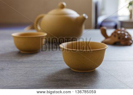 Tea Set Of Yixing Clay