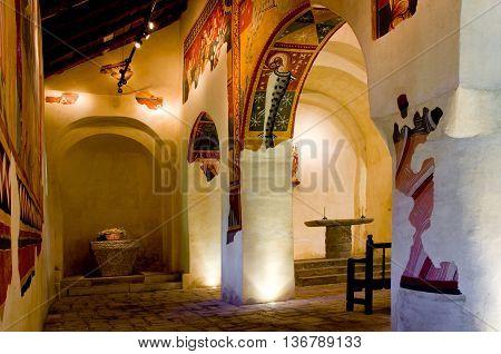 Romanesque Church Sant Joan De Boi,la Vall De Boi, Spain