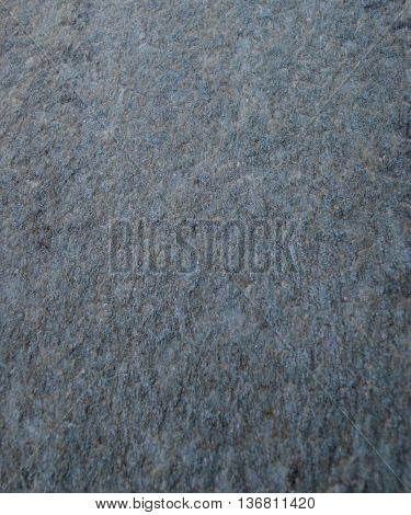 Wall of grey granite of color gris sombre
