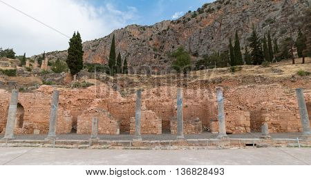 Archaeological Site of Delphi Greece