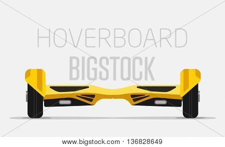 Hoverboard. Electric smart two Wheels Balance Board.