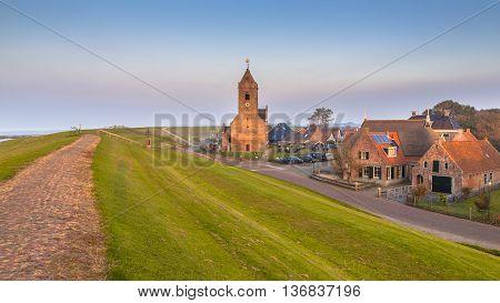 The Medieval Village Of Wierum
