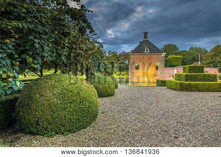 Landscaped Garden At Verhildersum