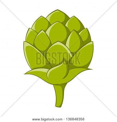 Seeds hops icon in cartoon style isolated on white background. Plants symbol
