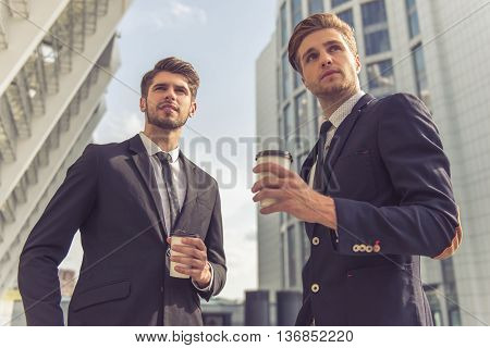 Handsome Young Businessmen