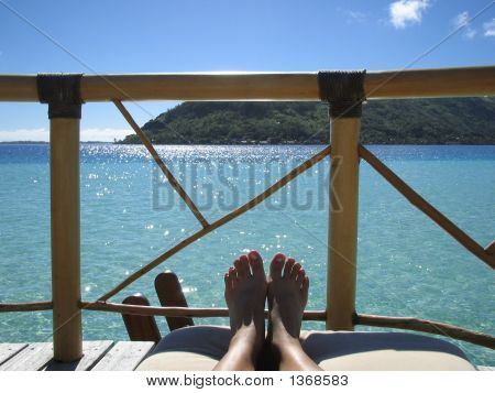 Relaxing Feet - Dream Vacation By The Sea