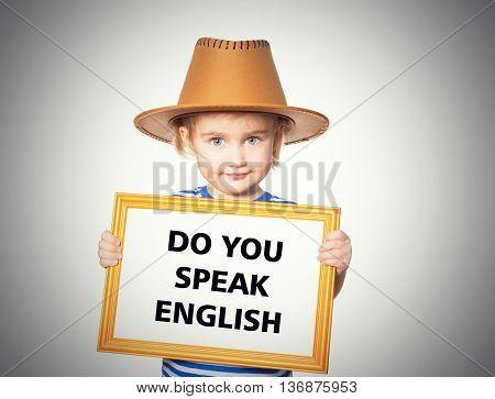 Text Do You Speak English.