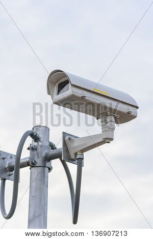 closed circuit television for security in public park