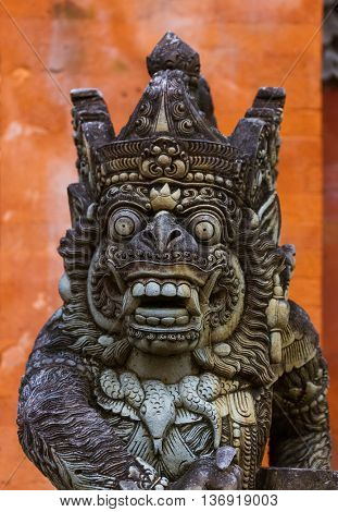 Tirta Empul Temple in Bali Island Indonesia - travel and architecture background